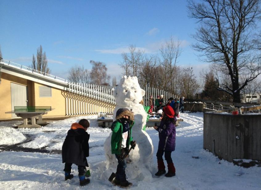 Schnee Kassel