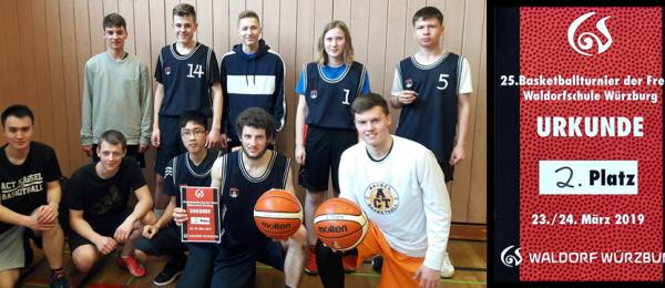Vizemeister Basketball 2019